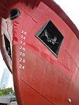 Fireboat Alexander Grantham, draft marks (Hong Kong).jpg