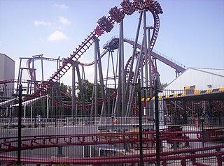Firehawk (roller coaster) Former roller coaster at Kings Island
