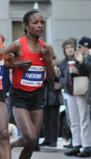 Firehiwot Dado Ethiopian marathon runner