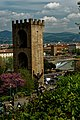 Firenze - Florence - Viale Giuseppe Poggi - View NE on Porta San Niccolò 1324 II.jpg