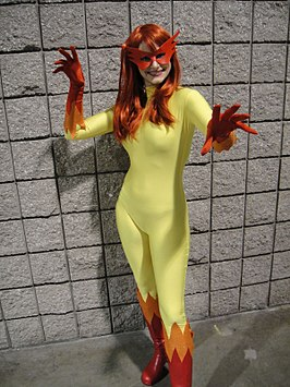Cosplayer Firestar, 2010.