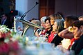 First Lady Melania Trump Attends the Congressional Spouses Luncheon (46939981155).jpg