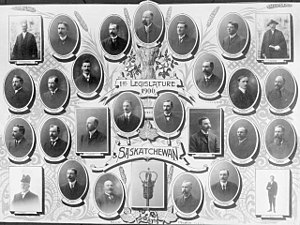 Saskatchewan general election, 1905 - First Legislature, 1906, Saskatchewan