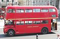 First London Routemaster bus RM1627 (627 DYE), Trafalgar Square, heritage route 9, 13 June 2011 (3).jpg