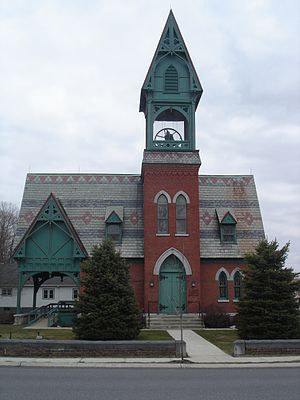 Valatie, New York - Image: First Presbyterian Church of Valatie, NY