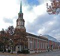 First Unitarian Church of Portland - 1924 building and 2007-built Buchan Building.jpg