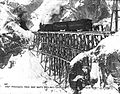First passenger train of the White Pass and Yukon Railroad en route to the summit, Alaska (5018161122).jpg
