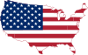 Flag-map of the United States.svg