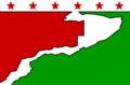 Flag of Los Robles La Paz, Cesar.png