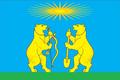 Flag of Severo-Yeniseysky rayon (2011).png