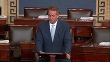 File:Flake Condemns Politicized Senate Process, Urges Human Decency.webm