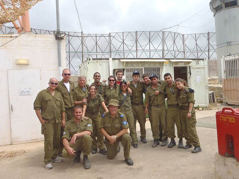 File:Flickr - Israel Defense Forces - Sar-El Volunteers at Lebanon Border (4).jpg