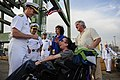 Flickr - Official U.S. Navy Imagery - The CNO presents his coin to a military supporter at the USO New York City Fleet Week block party..jpg