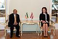 Flickr - Saeima - Saeimas priekšsēdētāja Solvita Āboltiņa tiekas ar Etiopijas vēstnieku (1).jpg