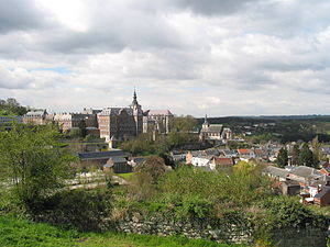 Floreffe - Image: Floreffe Abbaye et village (1)