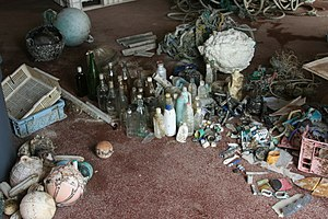 Marine debris - Debris collected from beaches on Tern Island in the French Frigate Shoals over one month
