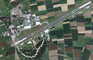 Memmingen Airport - Aerial view of Memmingen Airport