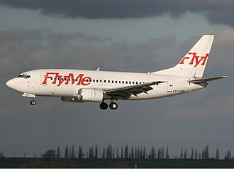 Christen Ager-Hanssen - FlyMe Boeing 737-500.