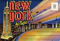 Folder cover of New York, by night. There are not images inside the folder (NBY 4318).jpg