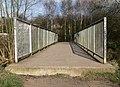 Footbridge across Saffron Brook - geograph.org.uk - 1184718.jpg