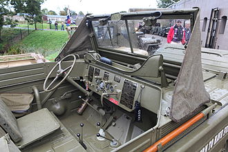 Ford GPA - Interior of a preserved GPA, 2010