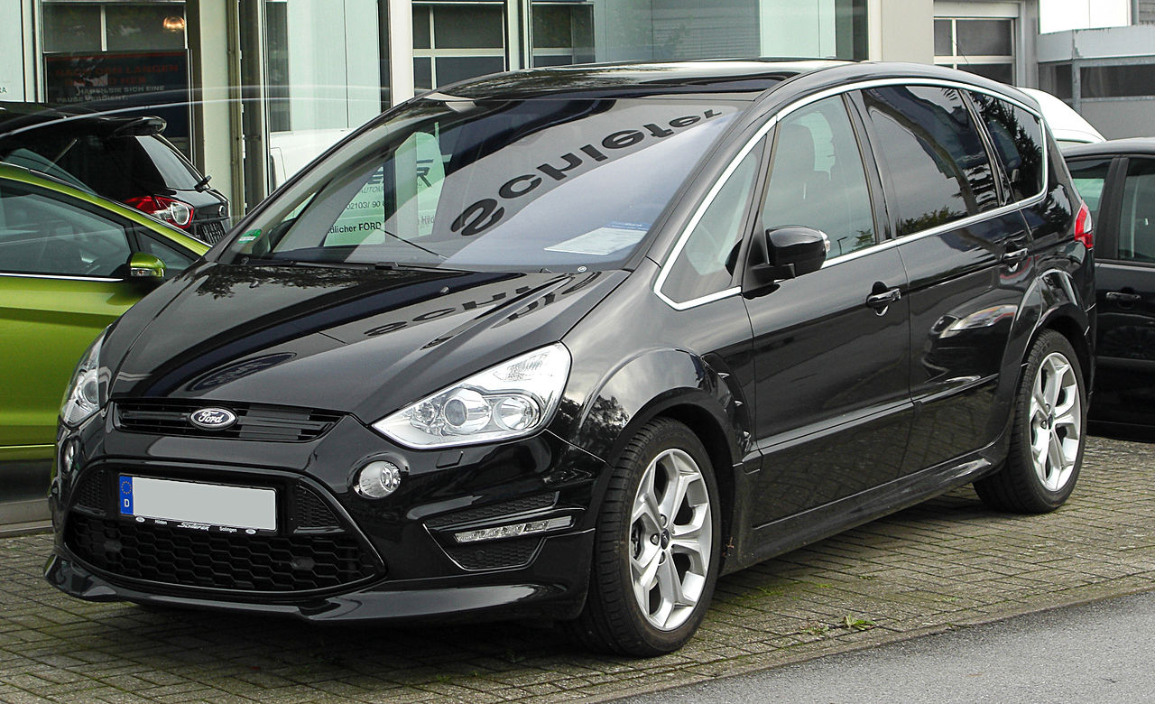 file ford s max 2 0 tdci titanium s facelift front wikimedia commons. Black Bedroom Furniture Sets. Home Design Ideas