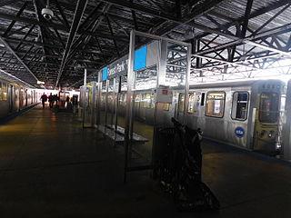 "Chicago ""L"" station"