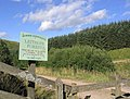 Forestry sign at Leithope Forest - geograph.org.uk - 543411.jpg