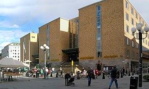 Forsgrenska Medborgarhuset at Medborgarplatsen...