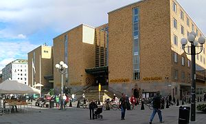 Medborgarplatsen - Medborgarplatsen and Medborgarhuset