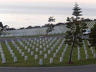 Fort Rosecrans National Cemetery - Image: Fort Rosecrans Cemetery, CA (2013) DSCN0452