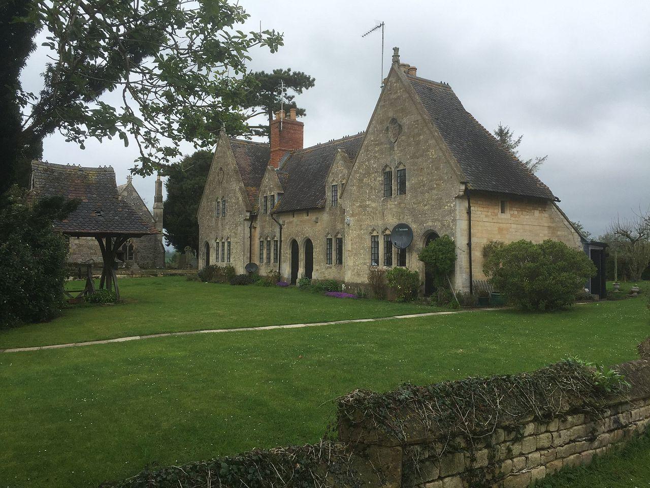 Yorke Almshouses. Forthampton, Gloucestershire