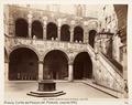 Fotografi på Cortile del Palazzo del Podestà, Florens - Hallwylska museet - 107392.tif