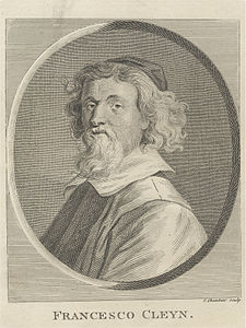 Francesco Cleyn (18th century) by Thomas Chambars.jpg