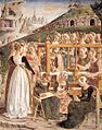 Francesco del Cossa - Allegory of March - Triumph of Minerva (detail) - WGA05396.jpg