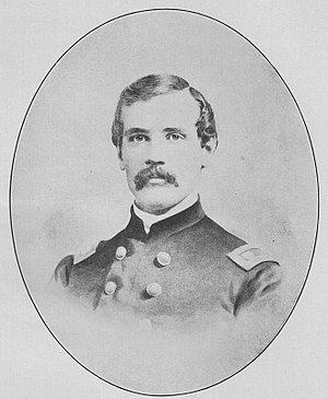 Francis Amasa Walker - Walker as an Assistant Adjutant General in the Second Army Corps
