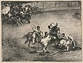 Francisco de Goya - The Bulls of Bordeaux- Picador Caught by a Bull - 1951.79 - Cleveland Museum of Art.jpg
