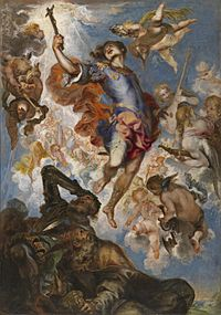 Francisco de Herrera le Jeune, Le Triomphe d' Hermenegild - Musée du Prado, Madrif.jpg