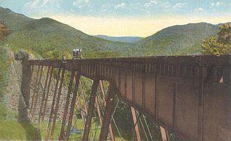 Mountain Division - Frankenstein Trestle in the White Mountains