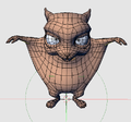 Frankie mesh in Blender.png