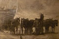 Franz Courtens - Trekpaarden op het strand.JPG