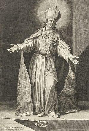 Frederik Bloemaert - Frederick of Utrecht, engraving from ca. 1630