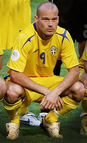 Freddie Ljungberg - Ljungberg representing Sweden at the 2006 FIFA World Cup