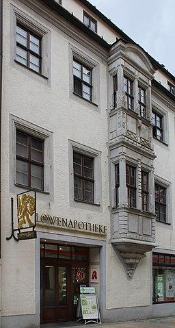 Burgstraße in Freiberg