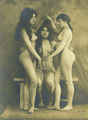 French Slave Trio Postcard c 1910.png