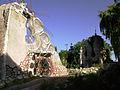 Frente del Castillo de Dionisio Aizcorbi. Obra realizada por él..JPG