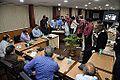 Frictional Electricity Demonstration - Indo-Finnish-Thai Exhibit Development Workshop - NCSM - Kolkata 2014-12-03 0840.JPG