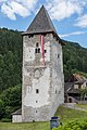 Friesach Petersberg 18 Bergfried von Erzbischof Konrad I und Stadtmuseum 24062015 5375.jpg