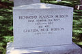Front view - Richmond Pearson Hobson grave - Arlington National Cemetery.JPG