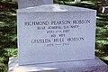Front view - Richmond Pearson Hobson grave - Arlington National Cemetery.JPG